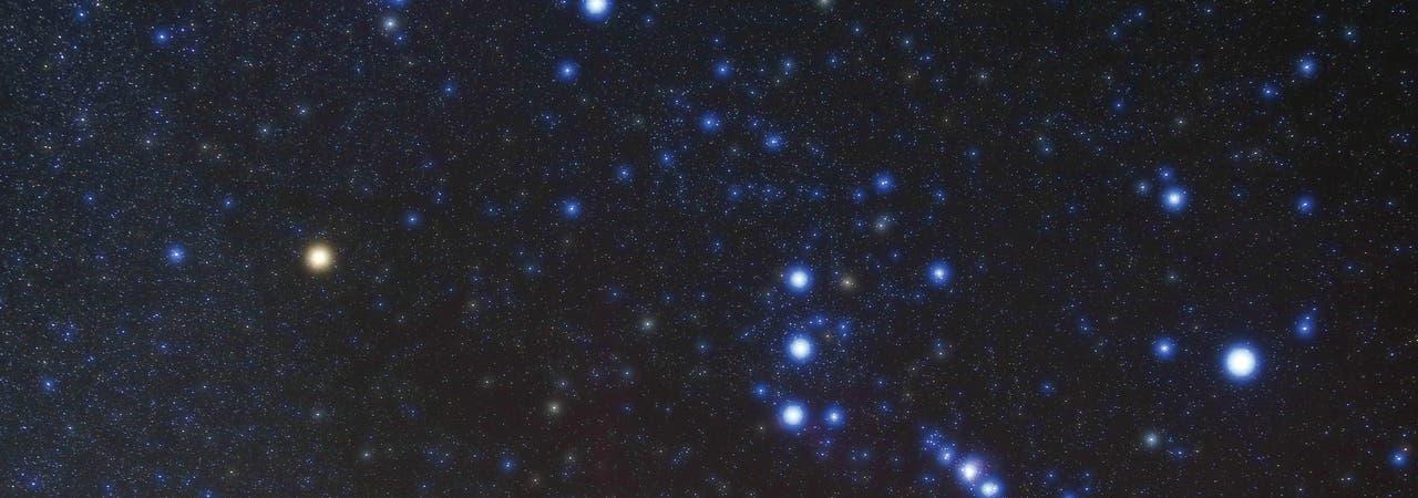 Orion mit Beteigeuze