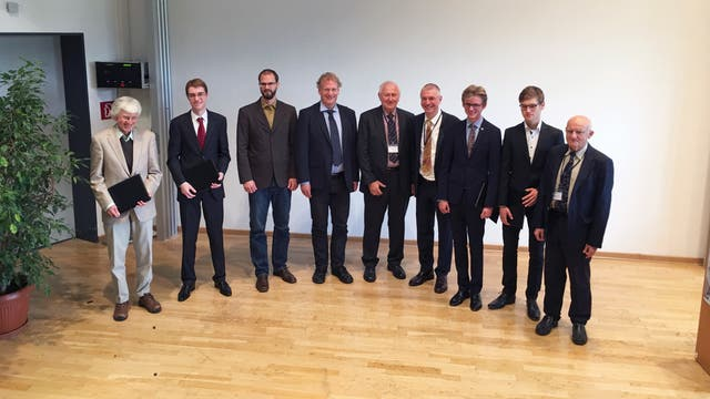 Preisträger 2017 der  Astronomischen Gesellschaft