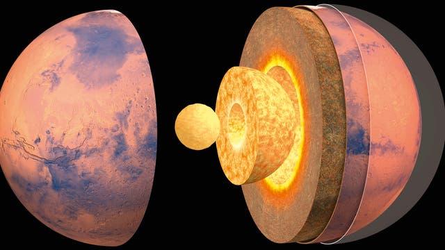Vorstoß ins Innere des Mars