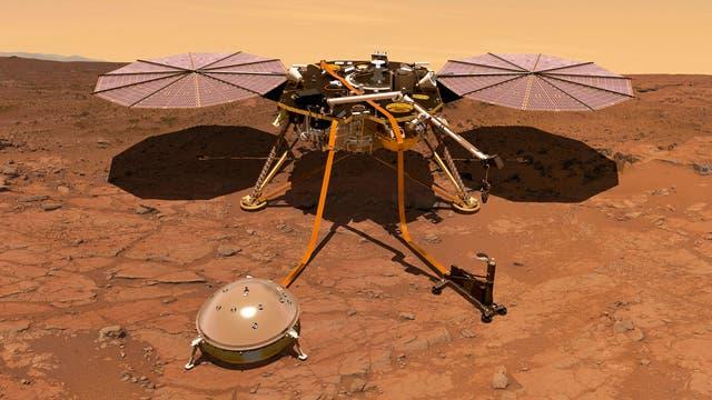 InSight auf Mars