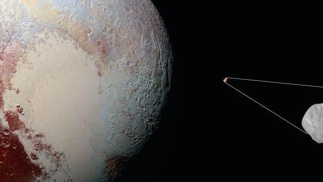 Raumsonde New Horizons und Ultima Thule