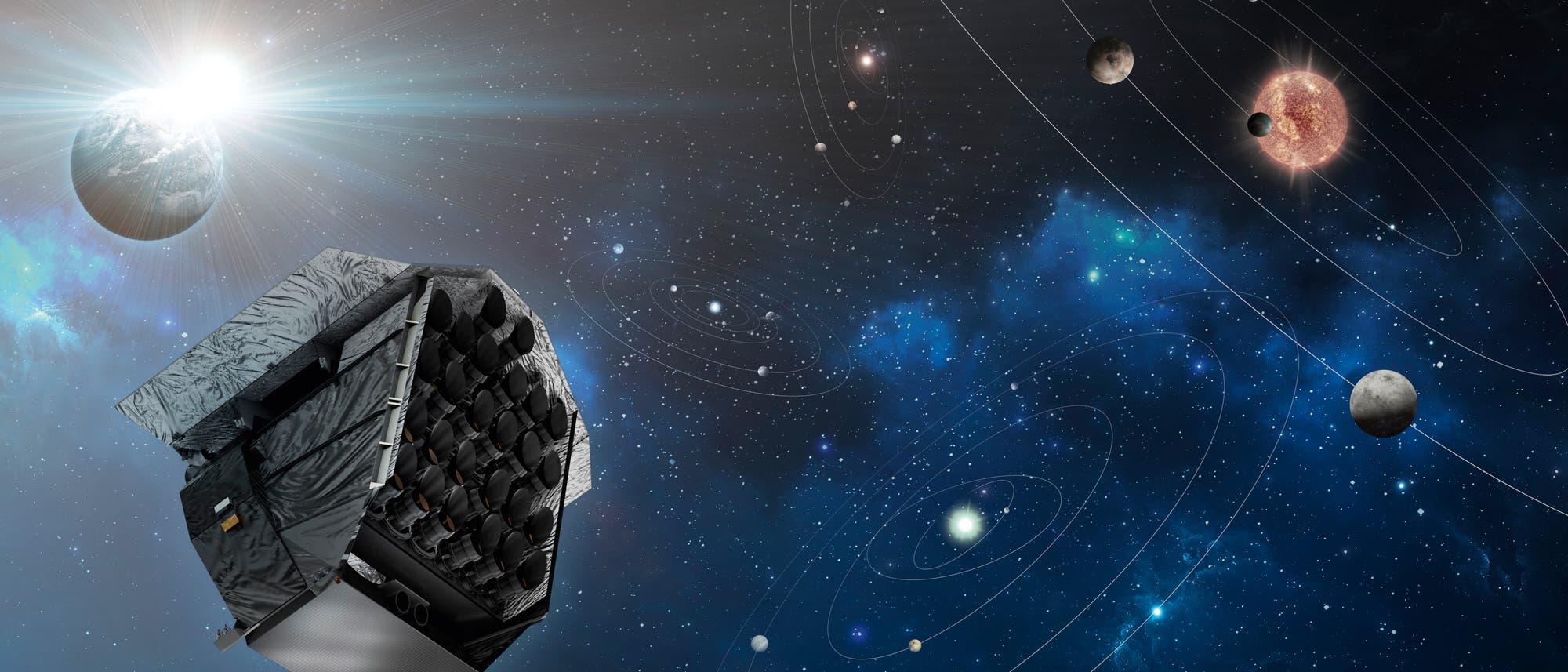 Teleskop-Array vom PLATO