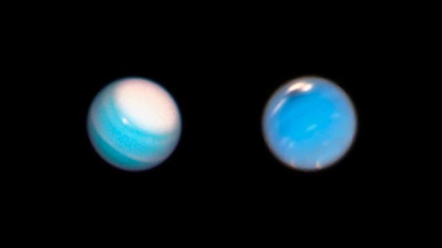 Uranus und Neptun