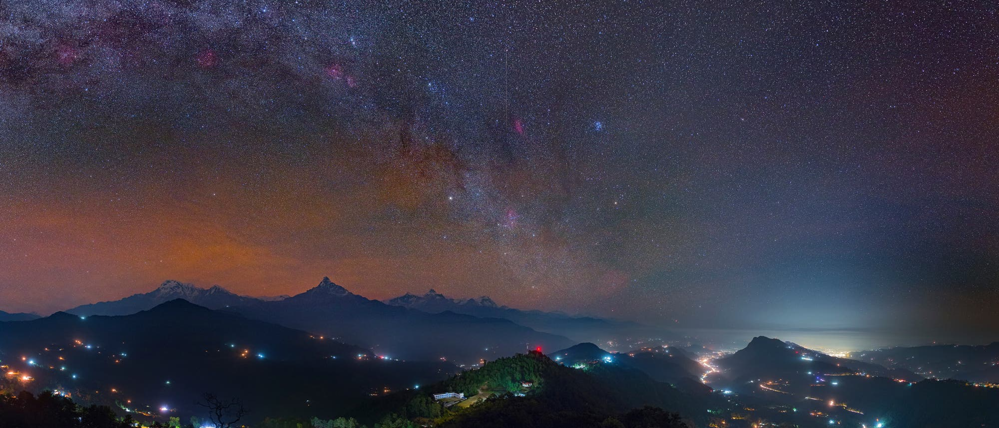 Orion über dem Annapurna
