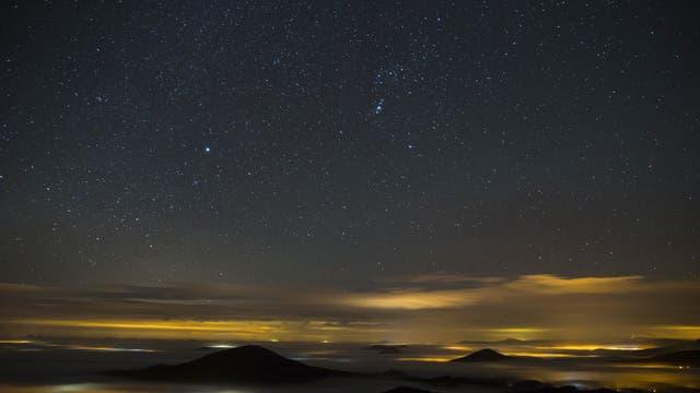 Sternenhimmel im Zittauer Gebirge