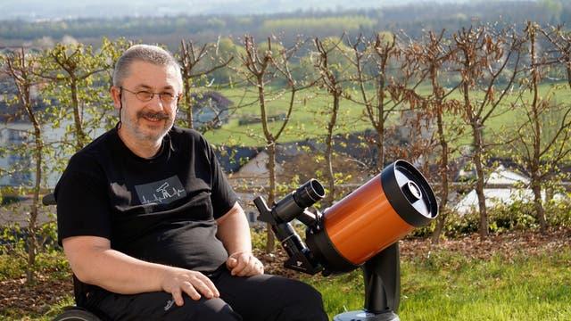 Hobbyastronomie vom Rollstuhl aus