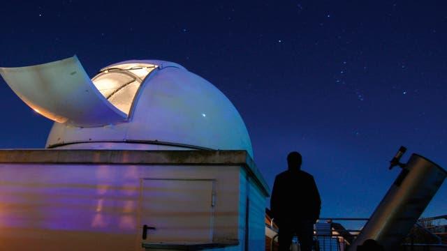 Astroszene Beobachtungskuppel
