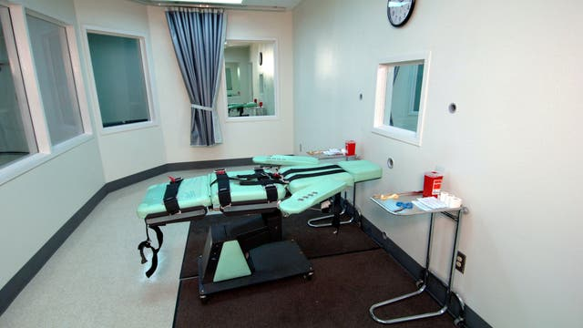 Hinrichtungsraum im San Quentin State Prison