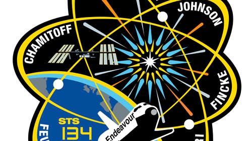 Missionsemblem STS-134