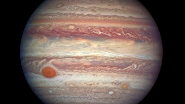 Hubble-Aufnahme zeigt Jupiter