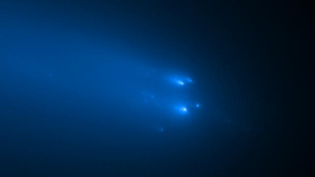 Sterbender Komet