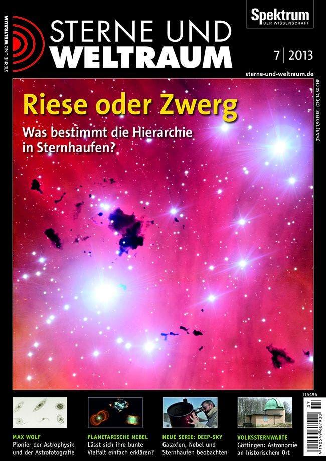 """Aus Sterne und Weltraum 07/2013 <br> <a href=""""http://www.astronomie-heute.de/artikel/1065835"""" target=""""_blank"""">Kostenloses Probeheft</a>"""