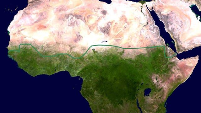 Afrika Grüne Mauer