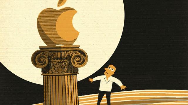 Apfel auf Erden