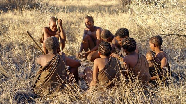 San in Botswana