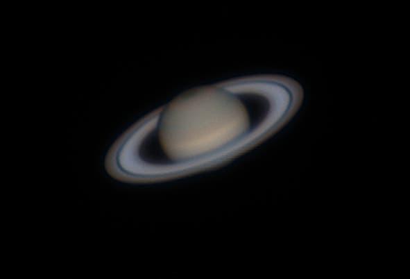 Ringplanet Saturn im Amateurfernrohr
