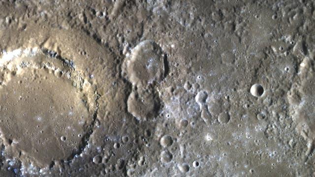 Das Scarlatti-Becken auf Merkur (aufnahme von Messenger)