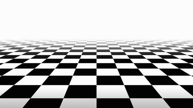 Schachbrett-Muster