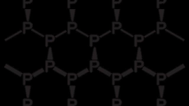 Struktur von Schwarzem Phosphor
