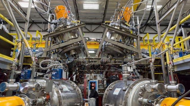 Fusionsreaktor bei Tri Alpha Energy