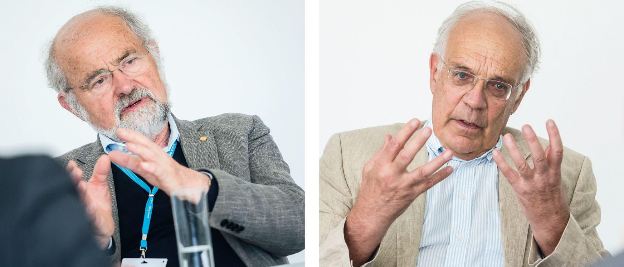 Erwin Neher und Bert Sakmann