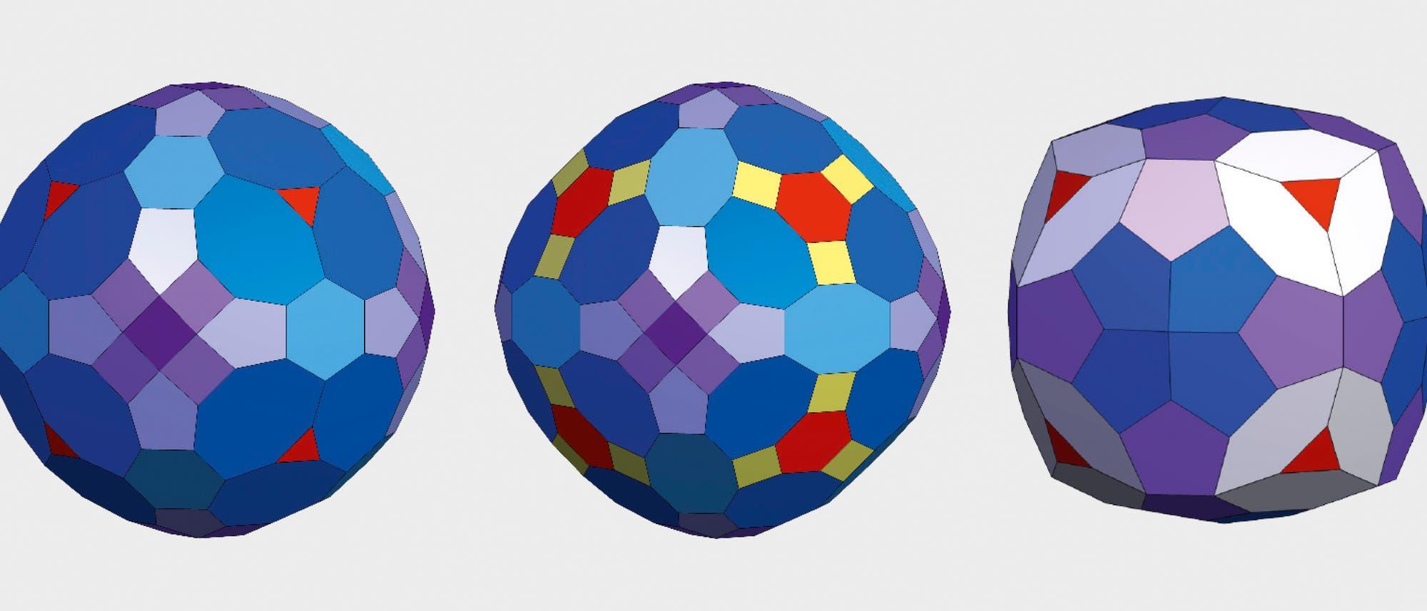 Gleichkanter mit der Symmetrie des Würfels von Enrico Bernal