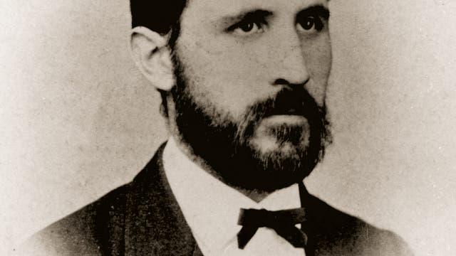 Friedrich Miescher in jungen Jahren.