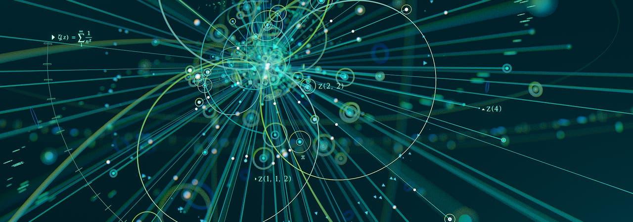 """Zwischen Teilchenkollisionen und mathematischen """"Motiven"""" besteht offenbar eine noch nicht verstandene Verbindung."""