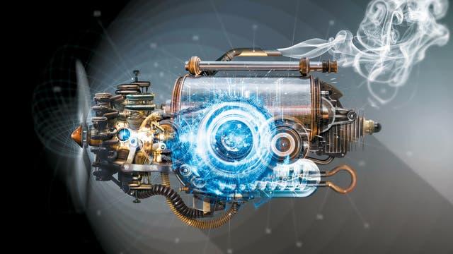 Quantenmechanische Phänomene vereinen sich mit den thermodynamischen Prinzipien klassischer Motoren.