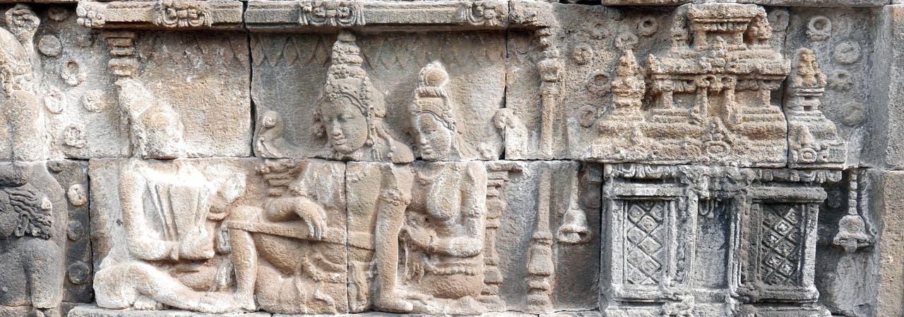 Borobudur-Relief