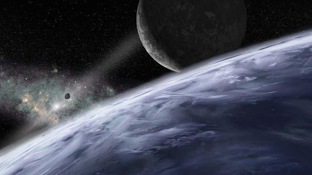 Himmelskörper im Kuipergürtel jenseits der Neptunbahn