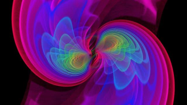 Simulation von Gravitationswellen