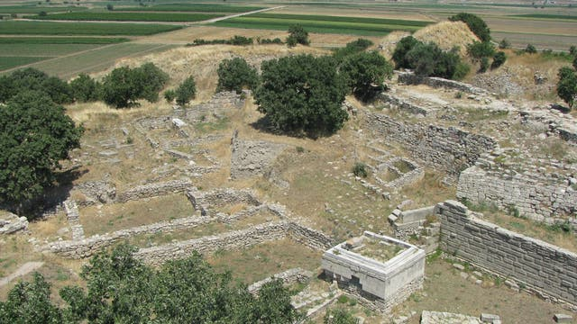 Die Ruinen des Terrassenhaus