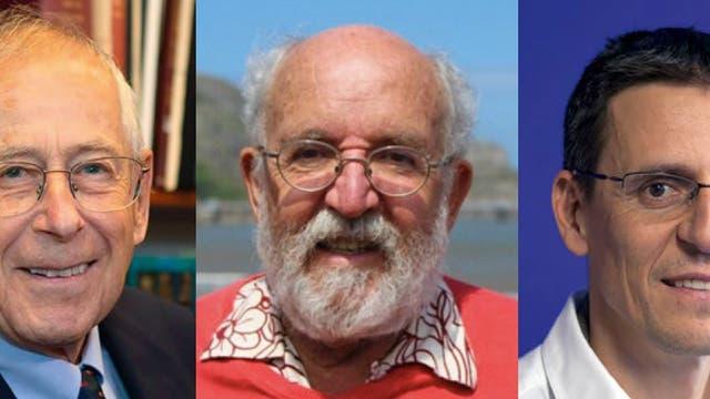 Physik-Nobelpreisträger 2019 James Peebles, Michel Mayor, Didier Queloz