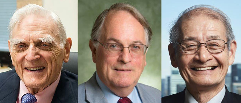 Chemie-Nobelpreisträger 2019 Goodenough, Whittingham und Yoshino