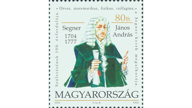 János András Segner (1704 – 1777)
