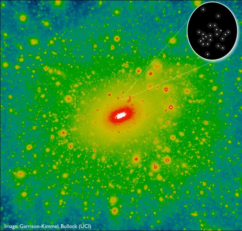 Die Zwerggalaxie Segue-2 im Umfeld der Milchstraße