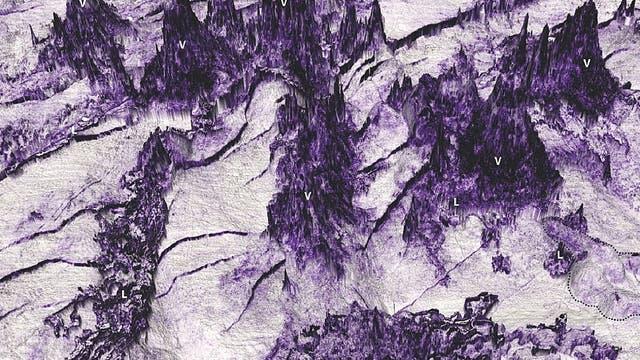 Vulkanische Unterwasserlandschaft vor Australiens Küste