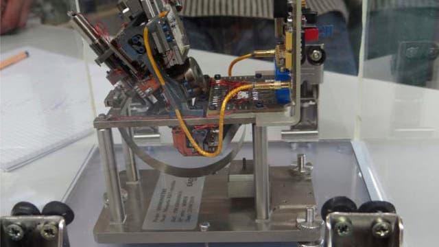 Prototyp für ein Mondseismometer