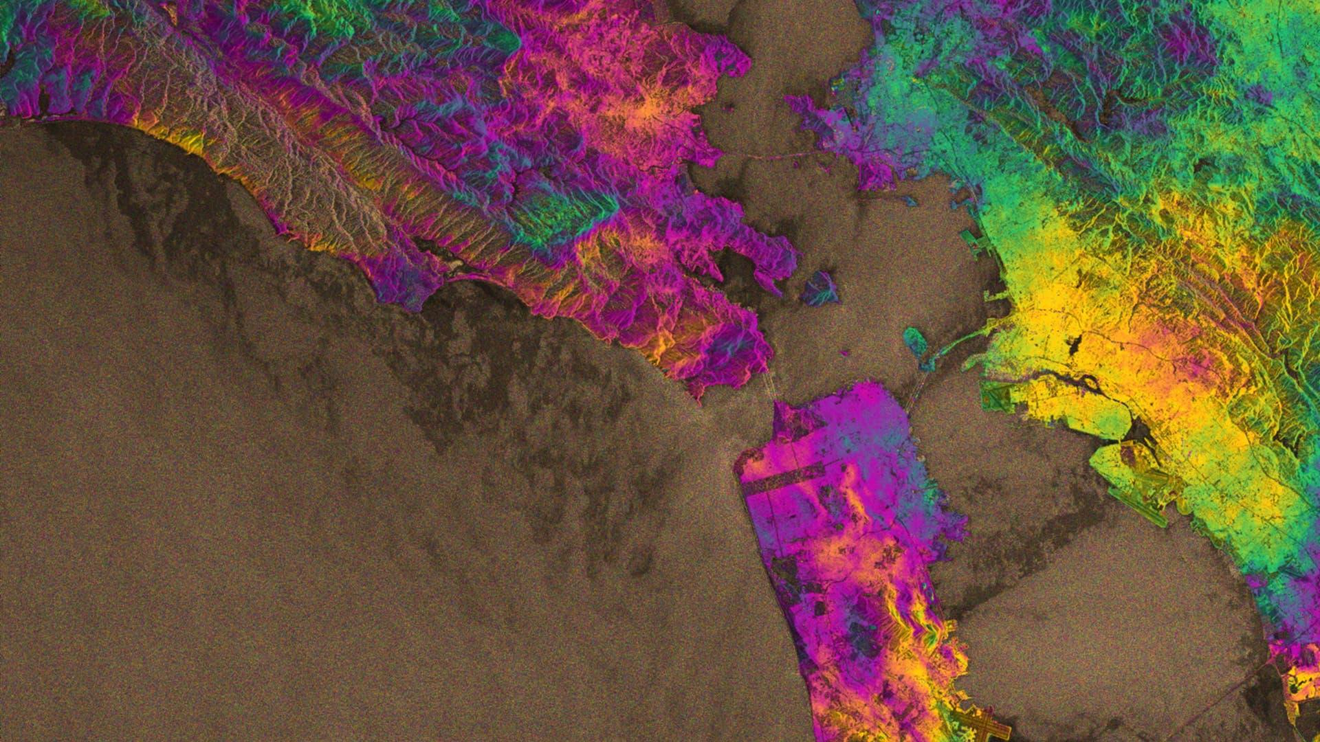Erdbeben in schillernden Farben