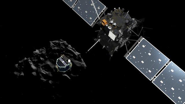 Die europäische Kometenmission Rosetta