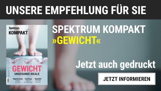 """Unsere Empfehlung: Das Spektrum Kompakt """"Gewicht"""" jetzt auch gedruckt"""