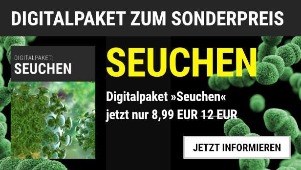 """Unsere Empfehlung: Das Digitalpaket """"Seuchen"""" für 8,99 EUR statt 12,00 EUR"""