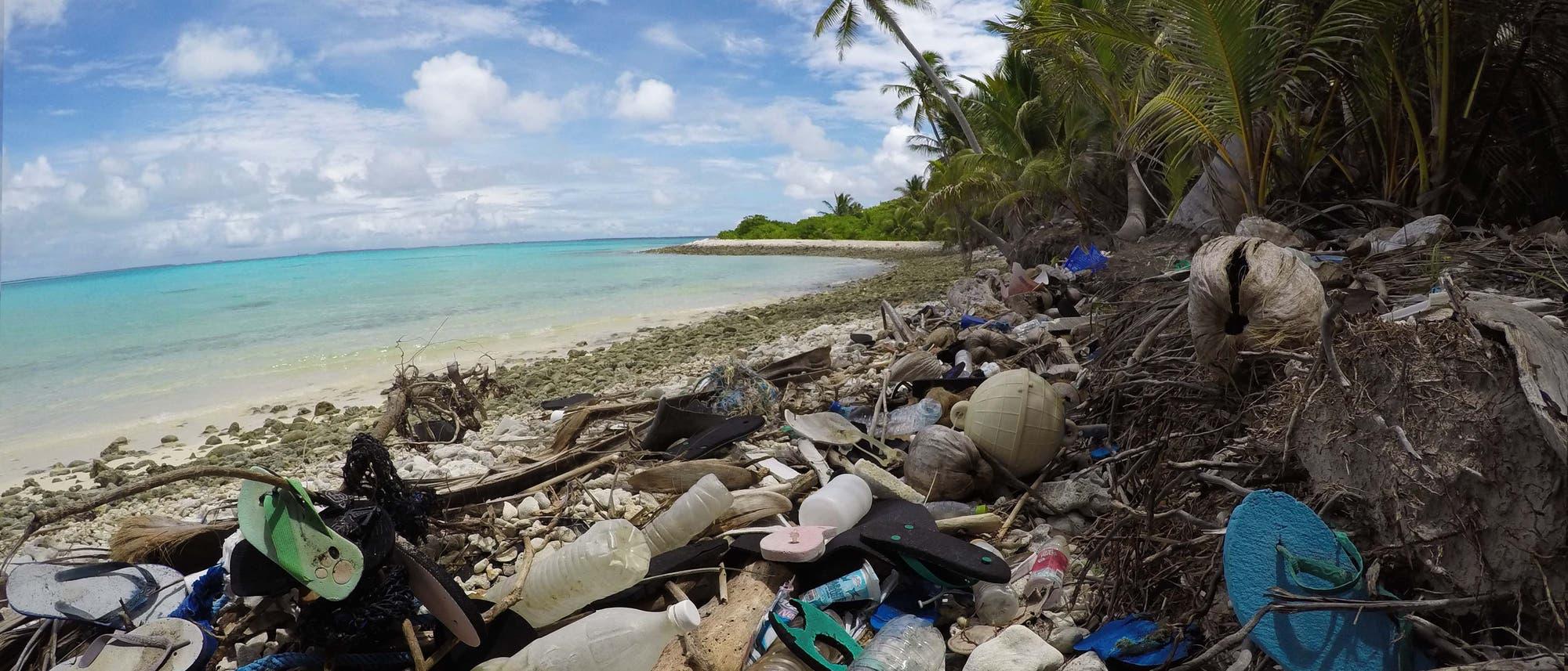 Müll auf den Kokosinseln
