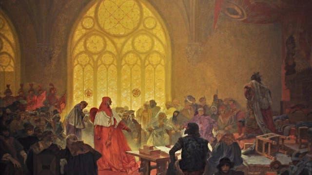 Georg wird erster nichtkatholischer König des Christentums