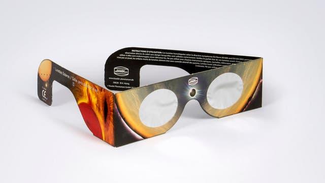 Sonnenfinsternis-Brille, Sofi-Brille
