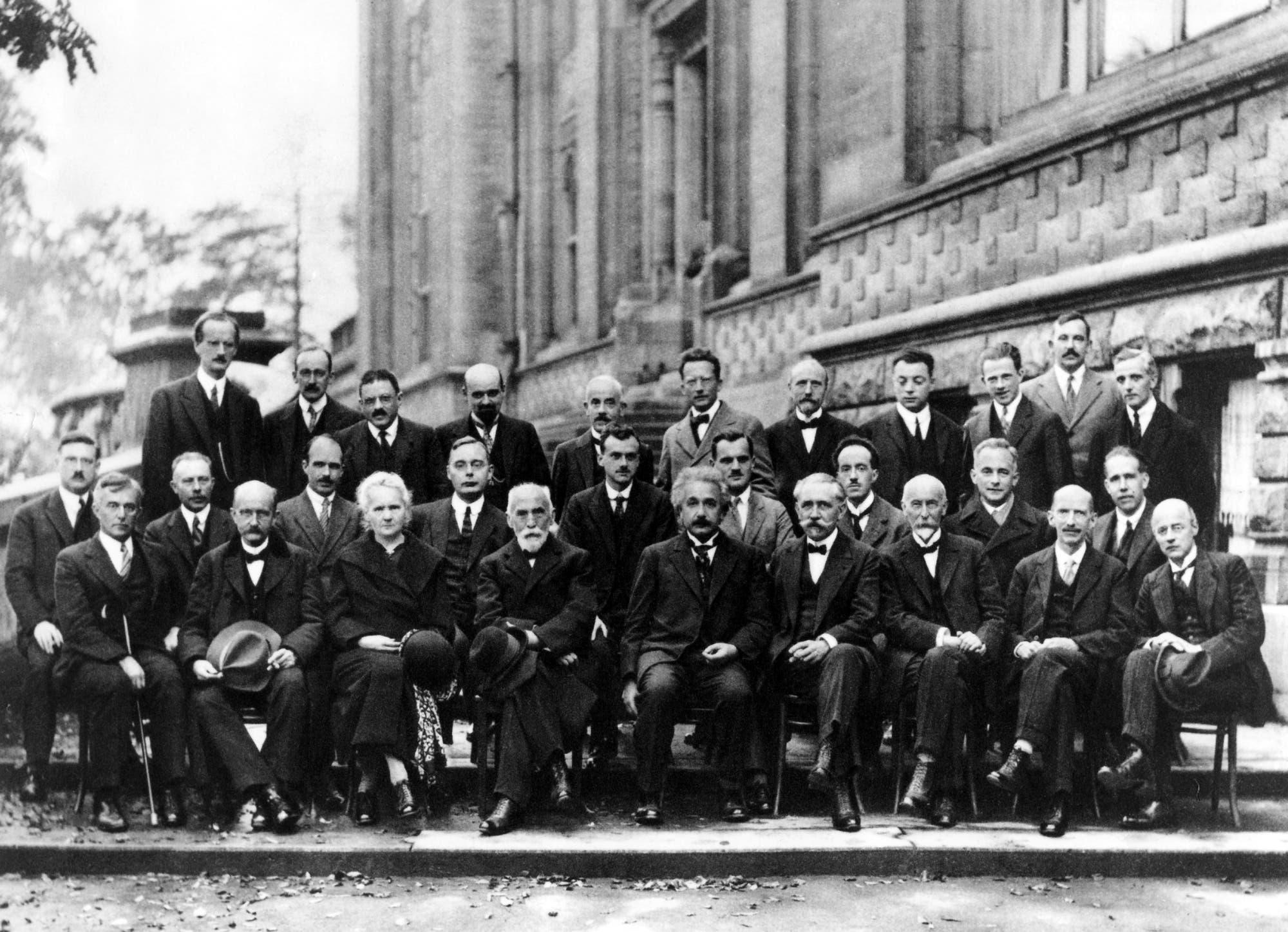 Gruppenfoto der 5. Solvay-Konferenz