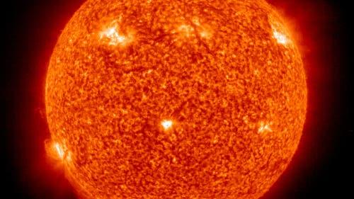 Die Sonne im Blick von Soho