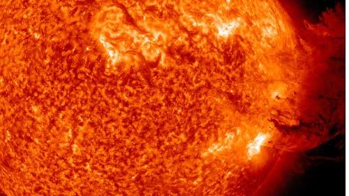 Sonneneruption vom 7. Juni 2011