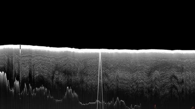 Radardaten des Südpols